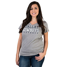 Dallas Cowboys Womens Practice Too Slub Tee