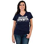 Dallas Cowboys Womens Practice Too Slub Tee
