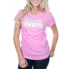 Dallas Cowboys Womens Practice Too Crew Tee