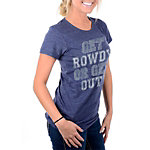 Dallas Cowboys Womens Get Rowdy Triblend Tee