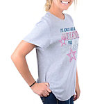 Dallas Cowboys Womens My Cowboys Crew Tee