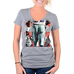 Dallas Cowboys Womens Poster Triblend V-Neck Tee