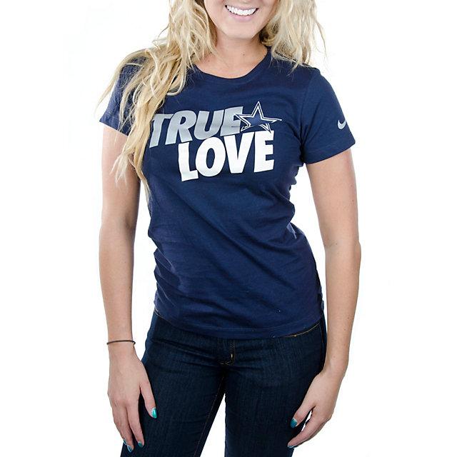 Dallas Cowboys Nike Womens True Love T-Shirt