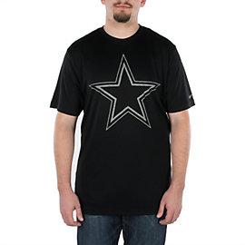 Dallas Cowboys Nike Tri-blend Heathered Logo Tee
