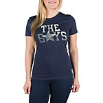 Dallas Cowboys Nike Womens Local Tee