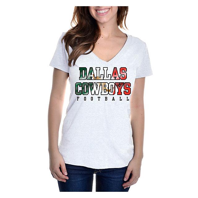 Dallas Cowboys Womens Cinco De Mayo Practice T-Shirt