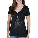 Dallas Cowboys Womens Dark Star Tee