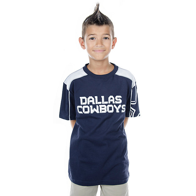 Dallas Cowboys Youth Blitz Short Sleeve T-Shirt