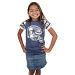 Dallas Cowboys Girls Big D Jersey T-Shirt