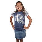 Dallas Cowboys Girls Big D Jersey T-Shirt