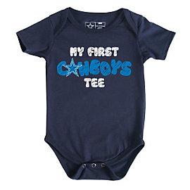 Dallas Cowboys Infant My First Tee Bodysuit