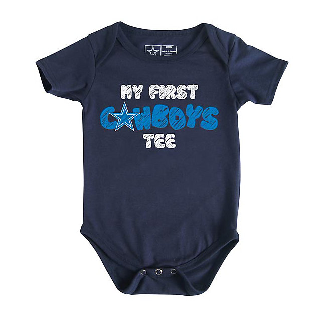 Dallas Cowboys Infant My First Tee Bodysuit