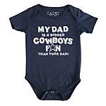 Dallas Cowboys Infant My Dad Bodysuit