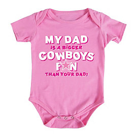 Dallas Cowboys Infant My Dad Bodysuit