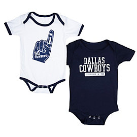 Dallas Cowboys Little Guy 2-Pack Bodysuit Set