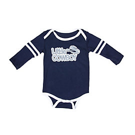 Dallas Cowboys Infant Little Player Long Sleeve Bodysuit