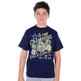 Dallas Cowboys Youth Rings Slant T-Shirt