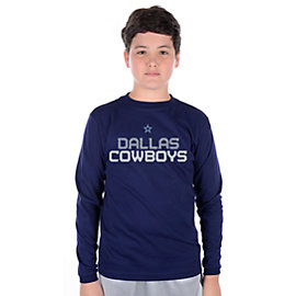 Dallas Cowboys Youth Splitline Long Sleeve T-Shirt