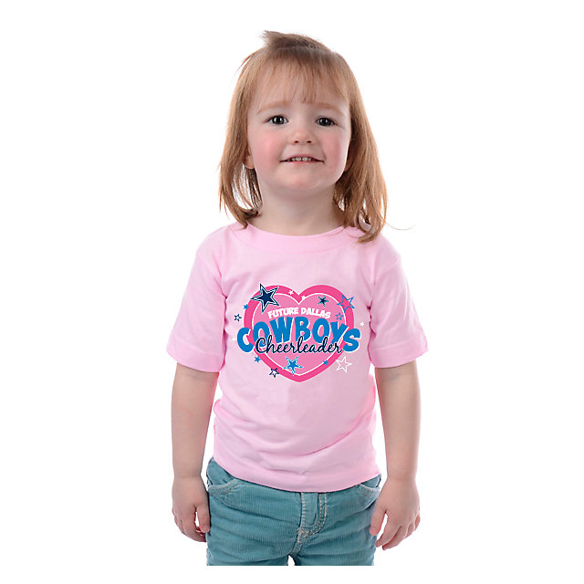 Dallas Cowboys Toddler Cheerleader T-Shirt