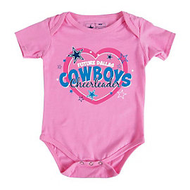 Dallas Cowboys Infant Cheerleader Bodysuit