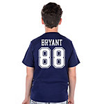Dallas Cowboys Youth Bryant Stripe Away T-Shirt
