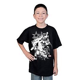 Dallas Cowboys MARVEL Youth Fierce Group T-Shirt