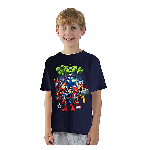 Dallas Cowboys MARVEL Kids Star Shine T-Shirt
