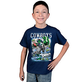 Dallas Cowboys MARVEL Youth Monster Run T-Shirt
