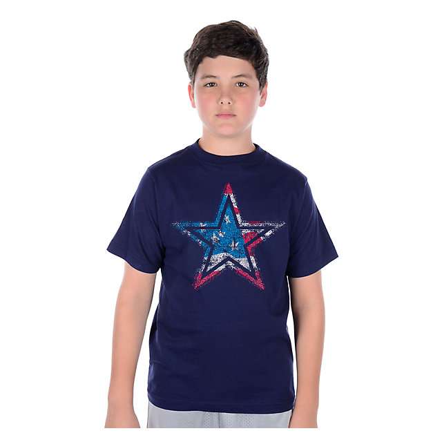 Dallas Cowboys Youth Star Flag T-Shirt