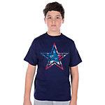 Dallas Cowboys Youth Star Flag T-Shirt