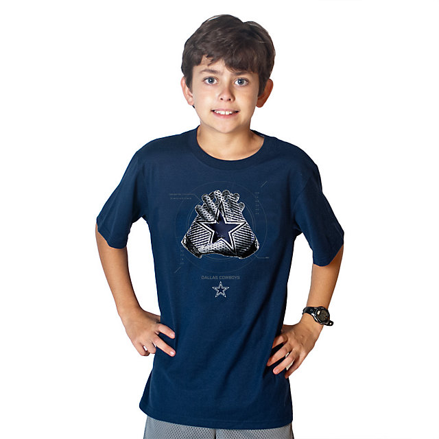 Dallas Cowboys Nike Youth Glove Lock Up Tee
