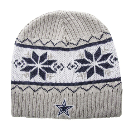 Dallas Cowboys Knit Hat Pattern : Dallas Cowboys Salient Knit Cap Cold Weather Hats Mens Cowboys Catalo...