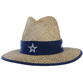 Dallas Cowboys New Era Training Camp Straw Hat