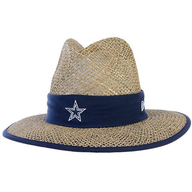 Dallas Cowboys New Era Training Camp Straw Hat