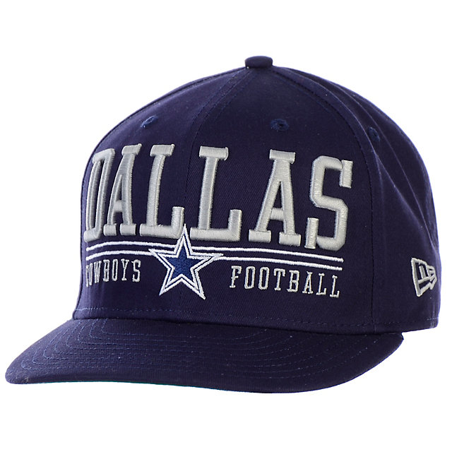 Dallas Cowboys New Era Lateral Snap 9Fifty Cap