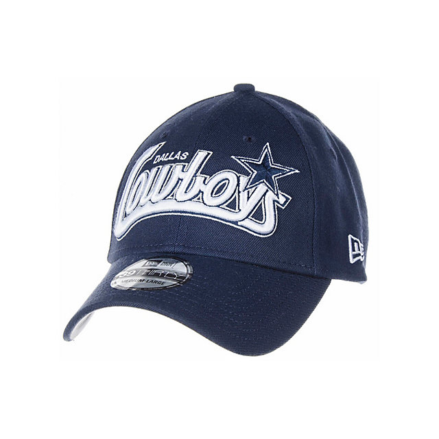 Dallas Cowboys New Era Tail Swoop 39Thirty Cap