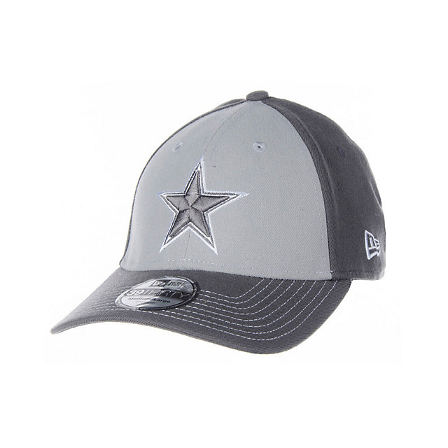 Dallas Cowboys New Era Platinum 39Thirty Cap