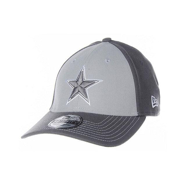 Dallas Cowboys New Era Platinum 39Thirty Cap