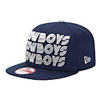 Dallas Cowboys New Era Tri-Frontal 9Fifty
