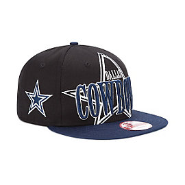 Dallas Cowboys New Era Logo Through 9Fifty