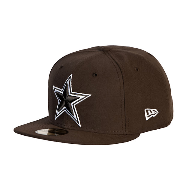Dallas Cowboys New Era Walnut Cap 59Fifty