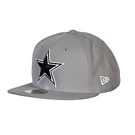 Dallas Cowboys New Era Grey Cap 59Fifty