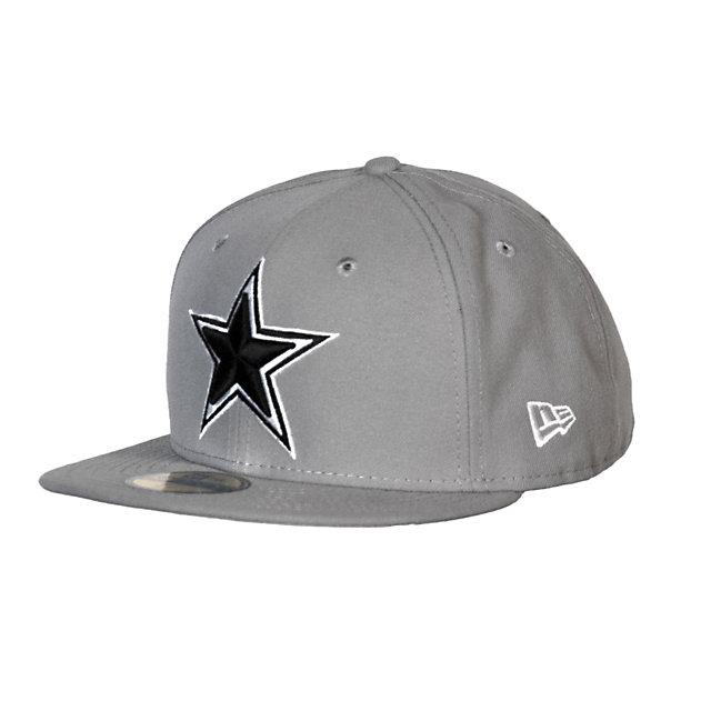 Dallas Cowboys New Era Grey Cap 59Fifty