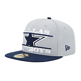 Dallas Cowboys New Era Logo Zoom 59Fifty