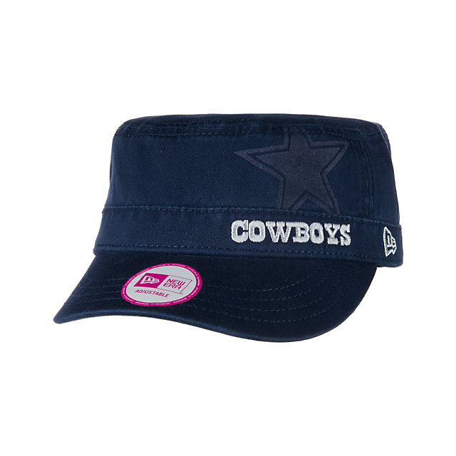 Dallas Cowboys New Era Womens Goal-2-Go Military Cap
