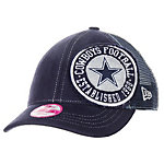 Dallas Cowboys New Era Ladies Circle Shortee Cap