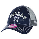 Dallas Cowboys New Era Womens Arch Mark 9Twenty Cap