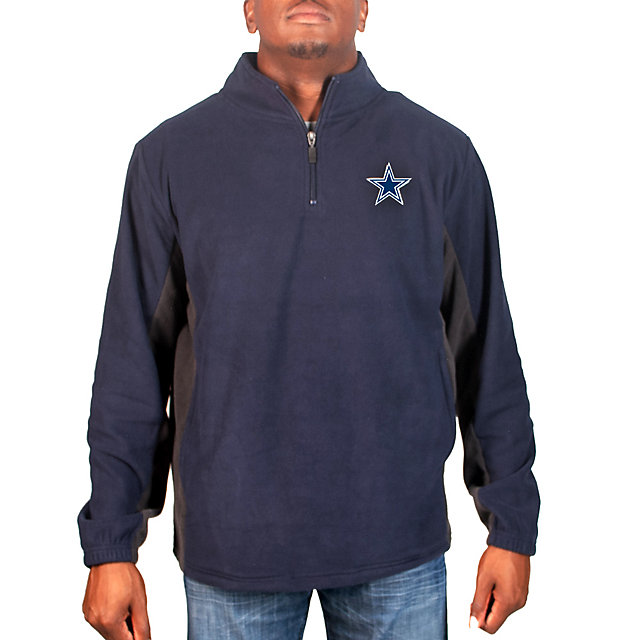 Dallas Cowboys Goalpost Quarter Zip Jacket
