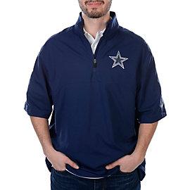 Dallas Cowboys Nike Quarter Zip Short Sleeve Hot Jacket