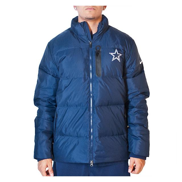 Dallas Cowboys Nike 650 Destroyer Down Jacket